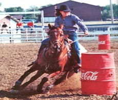 Ali on Sadie - NRCA Rodeo